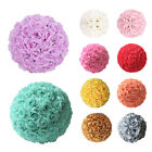 6 8 10 12 Dia Flower Kissing Ball DIY Silk Rose Pomander Wedding Party Decor