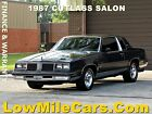 1987 Oldsmobile Cutlass Salon 1987 Oldsmobile Cutlass Salon coupe 5.0L V8 nice newer muscle car B