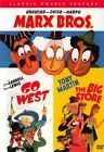Go West The Big Store DVD2004Double Feature Marx Bros Like New