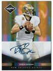 DREW BREES 2011 PANINI LIMITED AUTO AUTOGRAPH MONIKERS CARD #5 9!