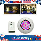 252 LED RGB Swimming Pool LED Light Underwater Lamp 7 Color+ Remote Control