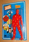 Mego Worlds Greatest Super Heroes Human Torch Fantastic 4 1975 Unpunched MOC