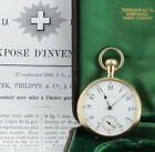 Patek Philippe pocket watch sold to Tiffany & Co. 1895, Original Box & Patent