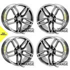 20x85 20x11 Aston Martin DB9 Virage PVD Chrome wheels rims Factory OEM set 4 20