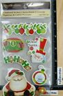 Recollections CHRISTMAS Stickers SANTA TREE PRESENTS SAYINGS MORE CHIPBOARD