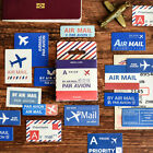 45PCS pack Air Mail Paper Lable Stickers Decoration DIY Scrapbook Sticker SY