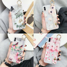 For iPhone XR Xs Max 8 Plus Shockproof Flower Cute Girls Women Phone Case Cover