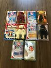 McDonald's Ty Beanie Babies, Millennium, Libearty, Chilly, Spangle and The End