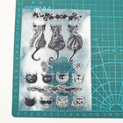 Silicone Clear Stamp Cat Transparent Rubber Stamps for DIY Scrapbooking Craft