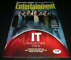 James McAvoy Signed iT Chapter two Entertainment Weekly Magazine PSA Pennywise