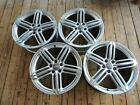 EXC FACTORY OEM 19 AUDI S4 S5 A4 A5 ALLROAD VW SILVER PEELER WHEELS RIMS