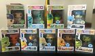 Funko Pop SHOP ECCC EXCLUSIVE Spastik Plastik FREDDY PULPO TBONE BIG AL SET LOT