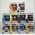 Funko Pop! Variety Characters common rare and exclusive