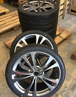 19x10 19x9 ASTON MARTIN V8 VANTAGE GENUINE OEM CHARCOAL WHEELS RIM SET W O TIRES