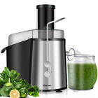 Electric Juicer Wide Mouth Fruit  Vegetable Centrifugal Juice Extractor 2 Speed