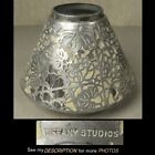 Antique Tiffany Studios Candle Lamp Shade Grapevine Pattern