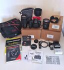 Canon EOS 6D 202MP Digital SLR Camera w 70 300 lens and extras