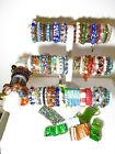 Stretch Bracelet Lot Bead Acrylic Plastic Glass Crystal 76