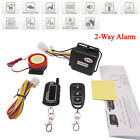 Universal Motorcycle 2-Way Alarm System Anti-theft Remote Control Engine Start