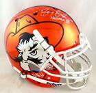 Barry Sanders Signed Oklahoma State F S Chrome Authentic Helmet - Beckett Auth
