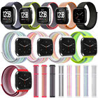 Soft Woven Nylon Loop Band For Fitbit Versa 2/Versa Lite Smart Watch Band Strap