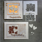 Love Heart Metal Cutting Dies Card Making Scrapbooking Embossing Stencil Craft