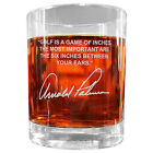 Arnold Palmer Famous Quote Etched Glass Set