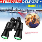 180x100 Zoom Day Night Vision Outdoor HD Binoculars Hunting Telescope + Case US