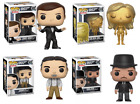 Set of 4 Funko POP James Bond 007 ! Figurine Toy Collection