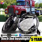 Pair 150W 7 inch Round LED Headlights Pair DRL For Jeep Wrangler Chevy Truck LXL