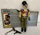 1987 GI Joe Zanzibar Action Figure w Profile Card