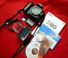 Veteran Nikon D80 10MP Camera with Accessories and 16GB SD Card