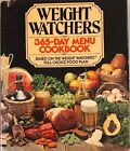 WEIGHT WATCHERS 365 Day Menu Cookbook Full Choice Food Plan vintage 1981 HC DJ