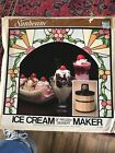 Vintage Sunbeam Ice Cream  Dessert Maker Electric Works Good Condition Homemade