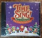 CENTER FOR CREATIVE PLAY Time To Sing! Sing-along CD CHRISTMAS New in Wrap