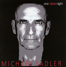 Michael Sadler - One Clear Night (Live) CD Ltd Release MSI Records (Saga) !