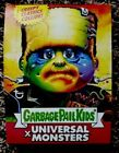 Super7 Comic con exclusive Universal Monsters Garbage Pail Kids Full 24 pack box