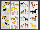 Mrs Grossman Stickers Chubby Farm Animals Horses Colts Running Horses