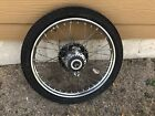 Puch Moped 17 Rear Wheel Rim With Tires Brake And Sprocket