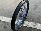 Custom Bmx Front Wheel Demolition Eclat Odyssey Primo Fit Cult Subrosa Shadow