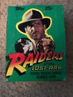 1981 Topps Raiders of the Lost Ark Complete Card Box (36 Unopened Packs)EX COND!