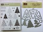 Stampin Up Peaceful Pines NEW stamp set  Perfect Pines Framelits Dies