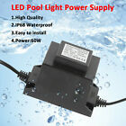 Output AC 12V Transformer 60W Adapter for LED Pool Light IP 68 Underwater SALE