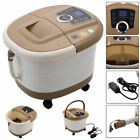 Vibration Infrared Relax Portable Foot Spa Bath Massager Bubble Heat LED Display