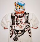 COOL CAT BEATNIK VINTAGE HALLOWEEN COSTUME WEIRD 1950s RETRO w/ MASK