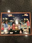 Nativity Advent Calendar Wooden Handmade Handpainted