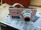 Sony Cyber-shot DSC-W320 14.1MP Digital Camera -Silver boxed with charger etc.