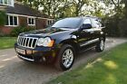 2010 JEEP GRAND CHEROKEE 30 CRD OVERLAND AUTO BLACK NEW MOT