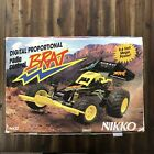Vintage Nikko Brat RC Car With Box Remote And Manual Remote Control