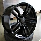 19 Satin Black wheels 437 style fits BMW 1 2 3 4 and 5 series